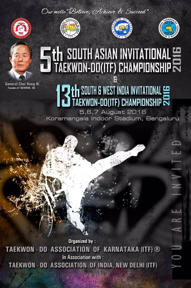 5th South Asian Invitational Taekwon-Do Championship & 13th South and West India Taekwon-Do Championship