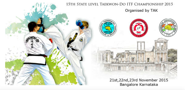 15th State Level Taekwon-Do ITF Championship 2015